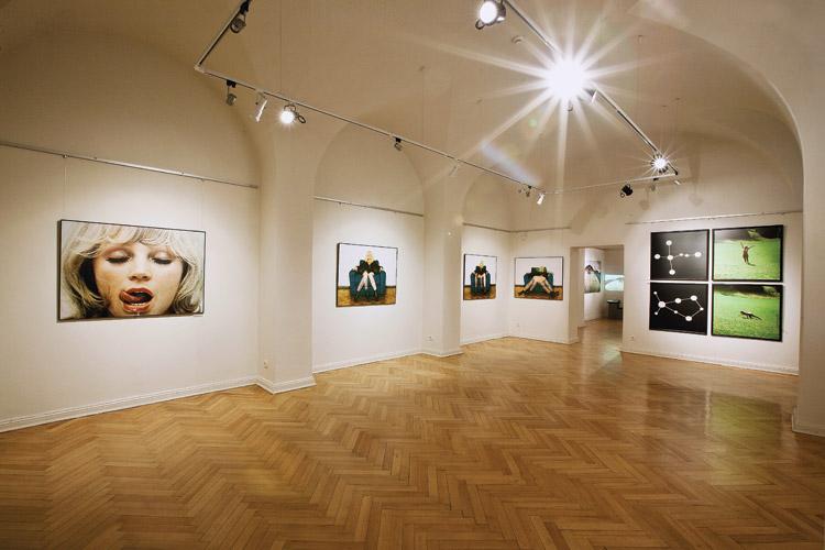 Sztuka postkonsumpcyjna 1975, Sztuczna fotografia 1975, Punkty podparcia (Łabędź / Wolarz) 1978